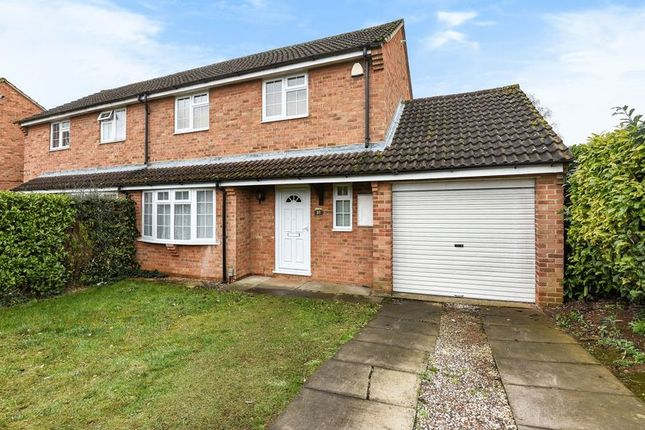 Thumbnail Semi-detached house to rent in Tweed Crescent, Bicester