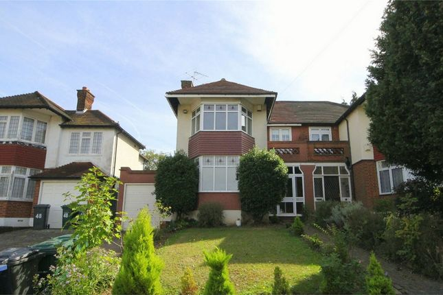 Thumbnail Semi-detached house to rent in Heddon Court Avenue, Barnet, Hertfordshire