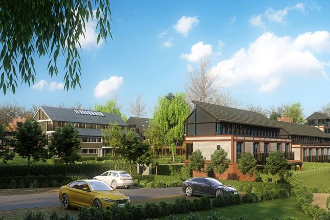 Thumbnail Flat for sale in Uplands Four Ashes Road, Cryers Hill, High Wycombe, Buckinghamshire