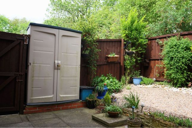 Rear Garden of Canal Mews, Chesterfield S41