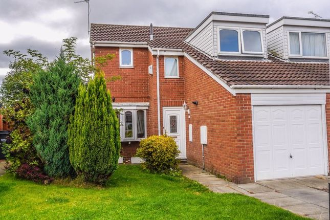 Thumbnail Semi-detached house to rent in Cherrytree Drive, Bedlington