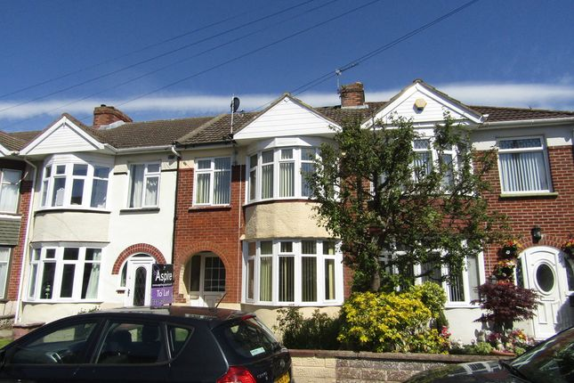 Thumbnail Terraced house to rent in Hill Park Road, Gosport