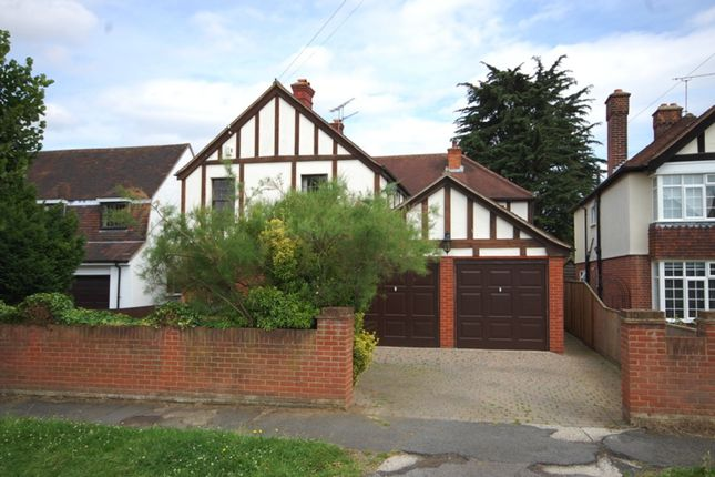 Thumbnail Detached house for sale in Chelmerton Avenue, Great Baddow, Chelmsford