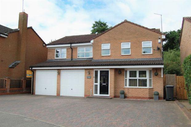 Thumbnail Detached house for sale in Edwinstowe Close, Edgemont Grange, Northampton