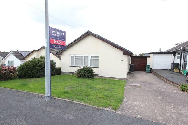 Thumbnail Detached bungalow to rent in Caer Gofaint, Groes, Denbigh