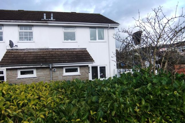 Thumbnail End terrace house to rent in Willhayes Park, Axminster, Devon