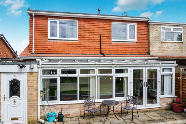 Thumbnail Semi-detached bungalow for sale in Longacre Close, Skelton