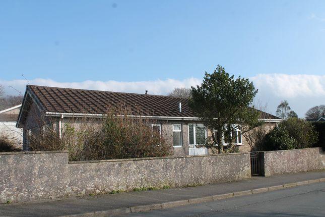 Thumbnail Detached bungalow for sale in Pilgrim Drive, Bere Alston, Yelverton