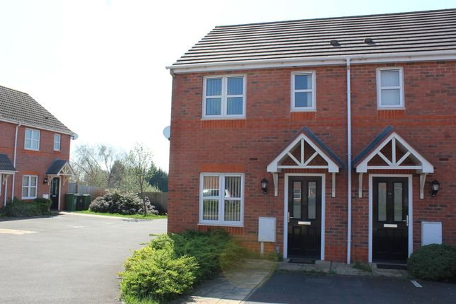 Thumbnail Town house for sale in Bourne Drive, Langley Mill