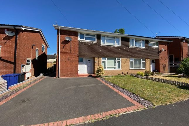 Thumbnail Semi-detached house for sale in Trent Grove, Newcastle