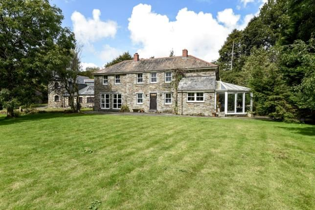 Thumbnail Detached house for sale in Camelford, Cornwall
