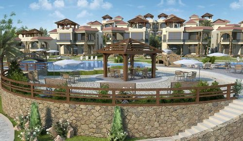 Thumbnail Town house for sale in Oasis Villas, Nabq Bay, Sharm El Sheikh