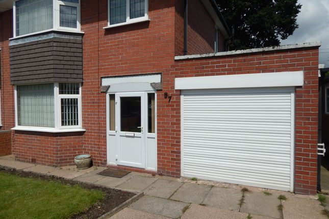Thumbnail Semi-detached house to rent in Clough Hall Road, Kidsgrove