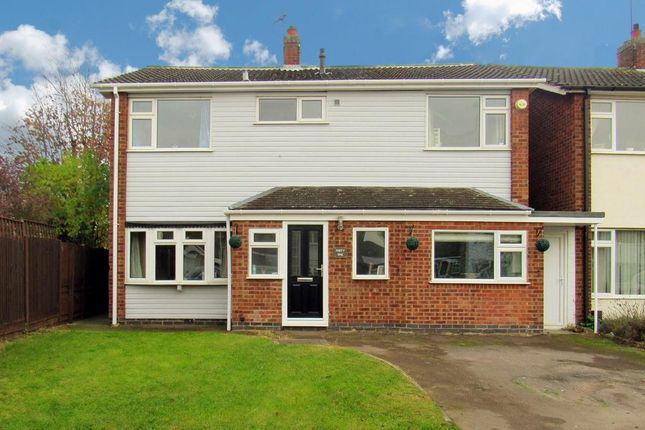 Thumbnail Detached house for sale in Ploughmans Lea, East Goscote, Leicester