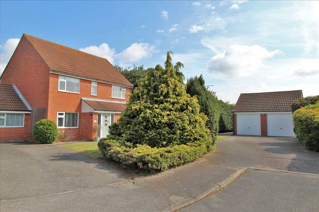 Detached house for sale in Chestnut Close, Rushmere St. Andrew, Ipswich