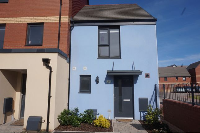 Thumbnail End terrace house for sale in Mariners Walk, Barry