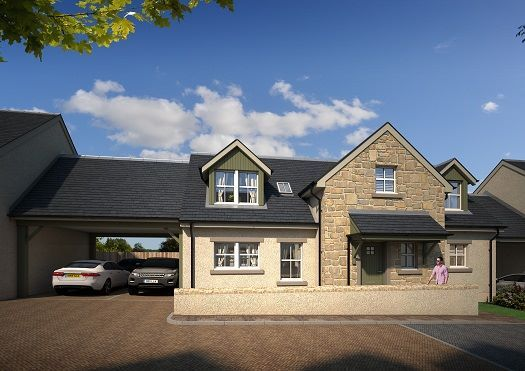 Thumbnail Detached house for sale in Dalmeny, South Queensferry