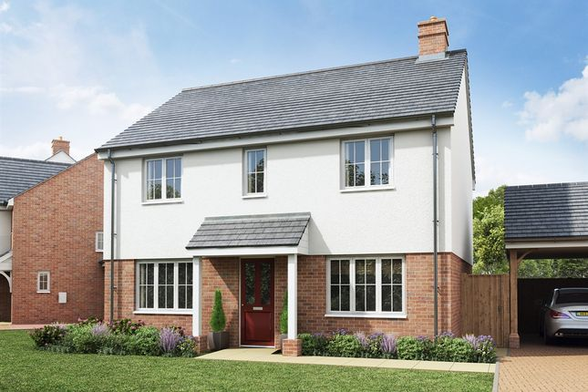 "Thumbnail Detached house for sale in ""The Chedworth"" at Rattle Road, Stone Cross, Pevensey"