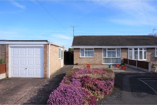Thumbnail Semi-detached bungalow for sale in Milton Close, Shrewsbury