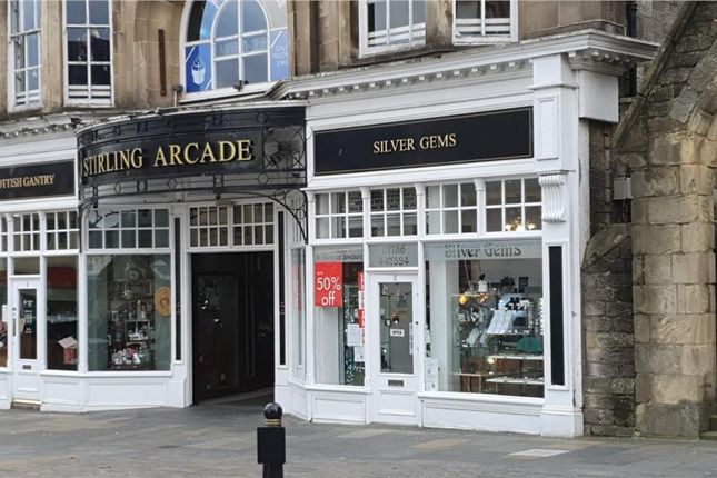 Thumbnail Retail premises to let in Unit 2, Stirling Arcade, Stirling