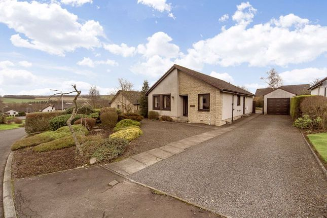 Thumbnail Detached bungalow for sale in Watts Gardens, Cupar, Fife