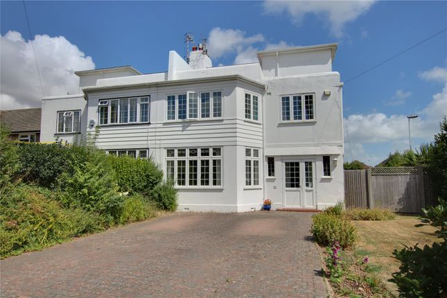 Thumbnail Semi-detached house for sale in Robson Road, Worthing, West Sussex