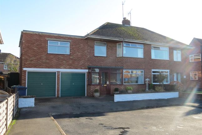 Thumbnail Semi-detached house to rent in Ansdell Drive, Brockworth, Gloucester