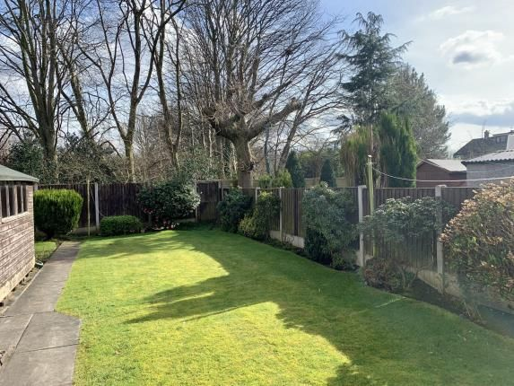 Garden of Arnesby Avenue, Sale, Greater Manchester M33