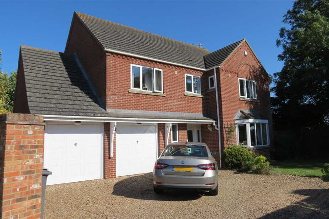 Thumbnail Detached house for sale in The Sidings, Cranwell Village, Sleaford