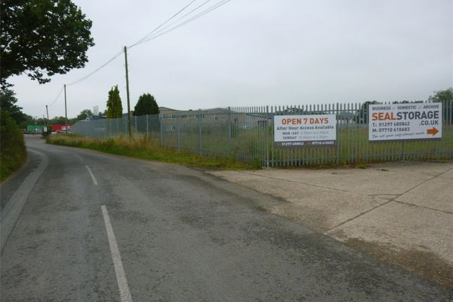 Thumbnail Land to rent in Secured Yard, Chard Junction, Chard, Somerset