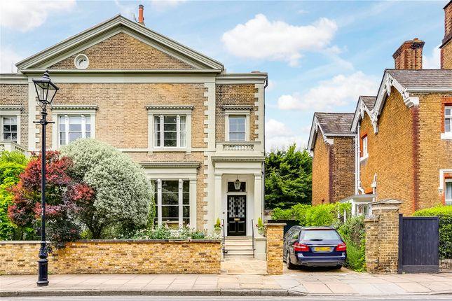 Thumbnail End terrace house to rent in Pembroke Villas, The Green, Richmond
