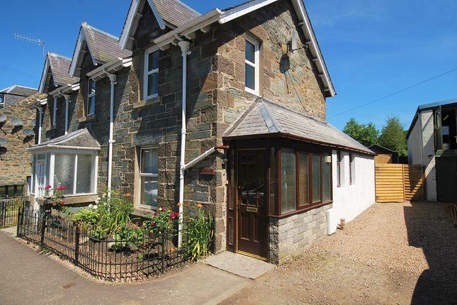 Thumbnail Semi-detached house for sale in Burnside, Aberfeldy