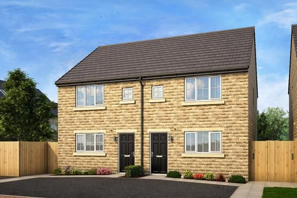 "3 bed property for sale in ""The Laskill At Clarence Gardens Phase 2"" at Oxford Road, Burnley"