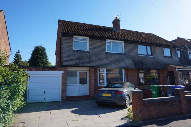 Thumbnail Semi-detached house to rent in Bankside Road, Manchester