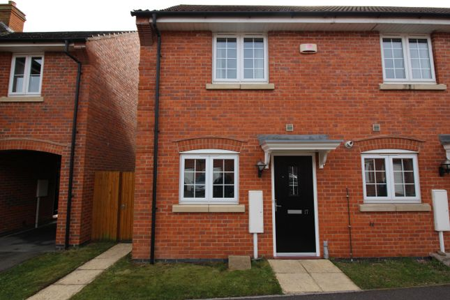 Thumbnail End terrace house to rent in Kingsdown Road, Lincoln