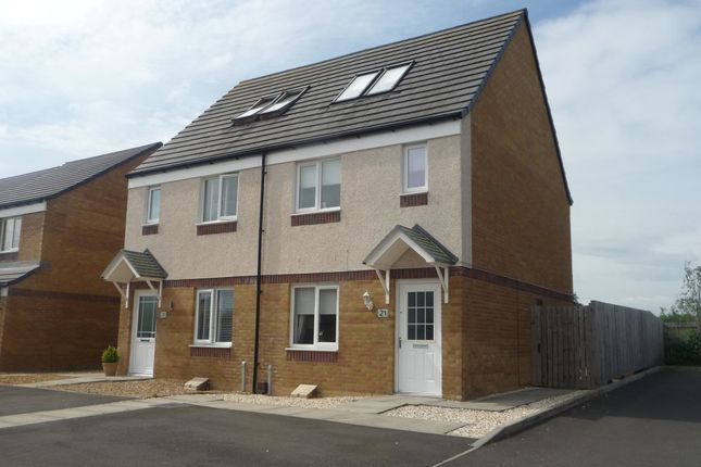 Thumbnail Semi-detached house for sale in Glen Isla Drive, Lanarkshire