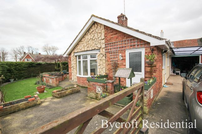 Thumbnail Detached bungalow for sale in Filby Close, Filby, Great Yarmouth