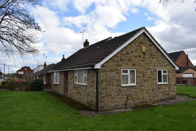 Thumbnail Detached bungalow to rent in Church Road, Altofts, Normanton