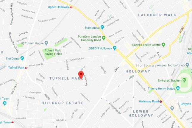 Floorplan of Carleton Road, Tufnell Park, London N7
