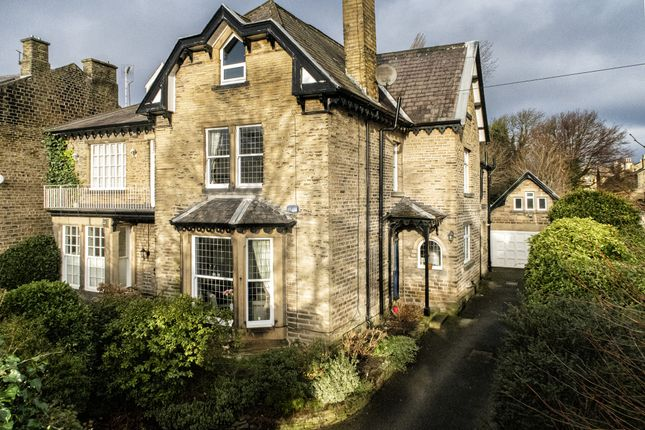 Thumbnail Semi-detached house for sale in Heaton Road, Huddersfield, West Yorkshire