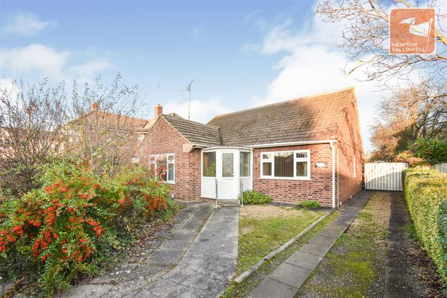 Thumbnail Detached bungalow for sale in Lincoln Road, Werrington Village, Peterborough