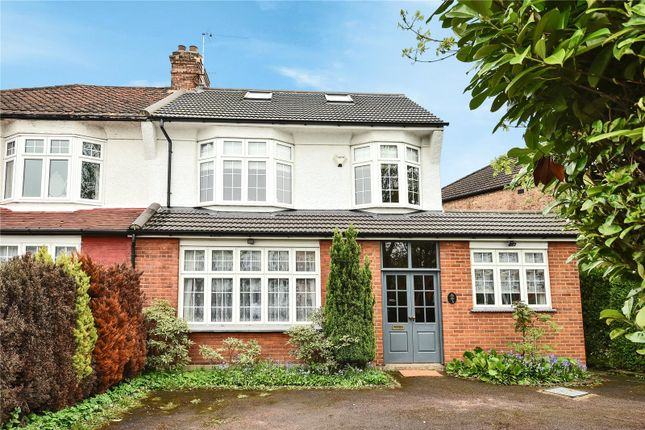 Thumbnail Semi-detached house for sale in Borden Avenue, Enfield, Middlesex