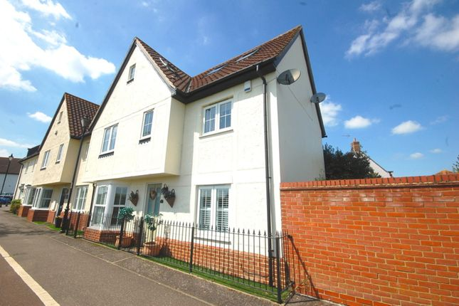 Thumbnail Town house for sale in Webb Close, Chancellor Park, Chelmsford