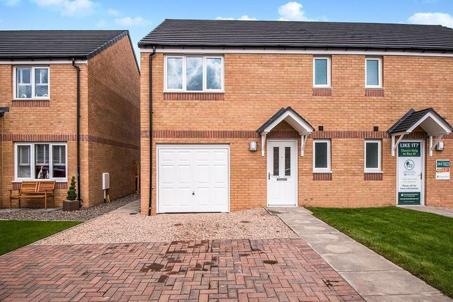 Thumbnail Semi-detached house to rent in Drumauther Way, Kinross