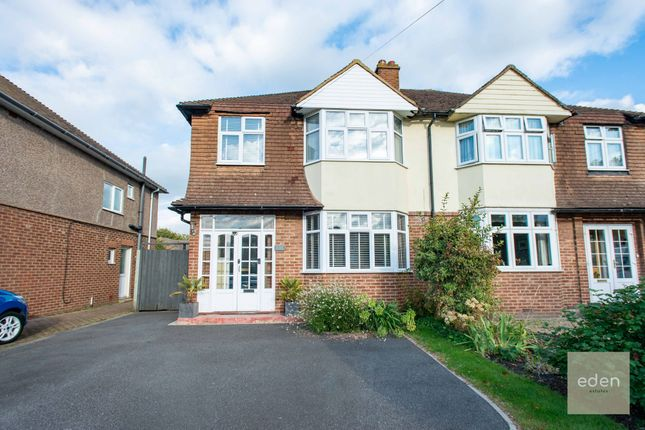 Thumbnail Semi-detached house for sale in New Hythe Lane, Larkfield