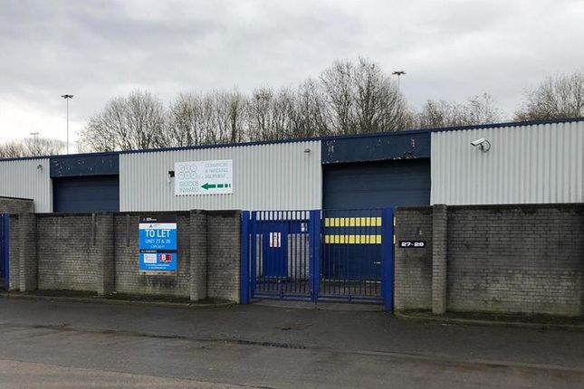 Thumbnail Light industrial to let in Unit 27 & 28, Astmoor Industrial Estate, Arkwright Road
