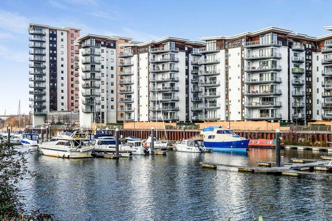 Thumbnail Flat for sale in Victoria Wharf, Watkiss Way, Cardiff