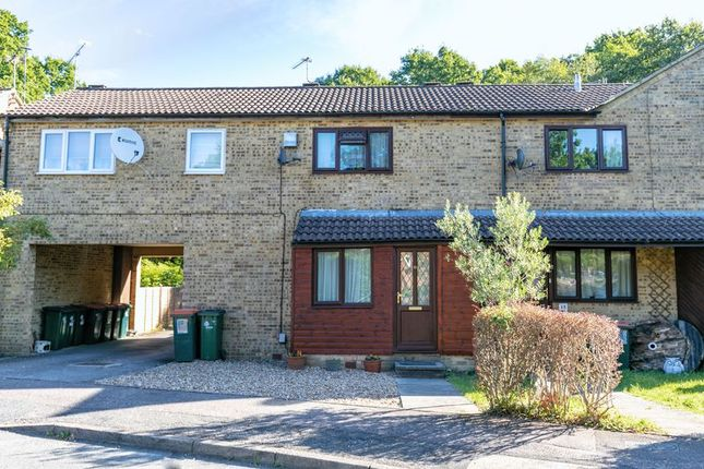 Thumbnail Terraced house for sale in Woodcourt, Tollgate Hill, Crawley, West Sussex