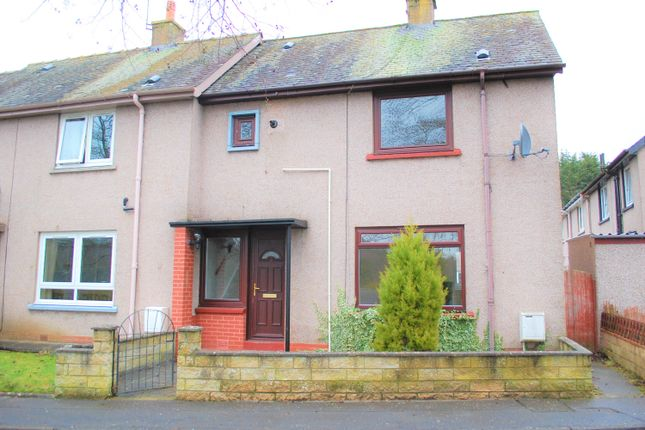 Thumbnail End terrace house to rent in Craighall Place, Rattray, Blairgowrie