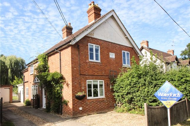 Thumbnail Semi Detached House For Sale In Eversley Road Yateley Hampshire